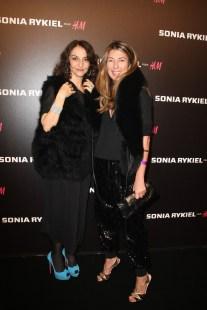 Nathalie Rykiel and Nina Garcia