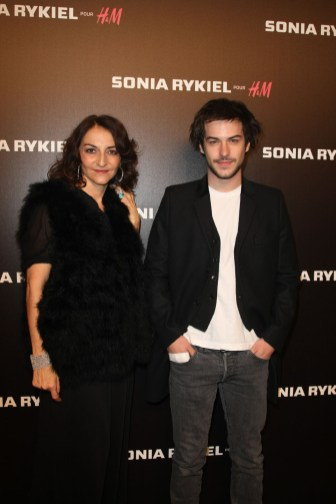 Nathalie Rykiel and Marc Andre Grondin