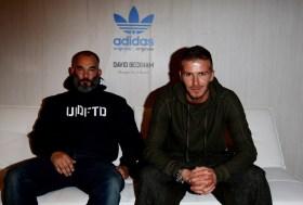 James Bond and David Beckham