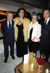 Paolo Galimberti and Sophia Loren