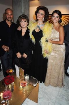 Sophia Loren and Penelope Cruz