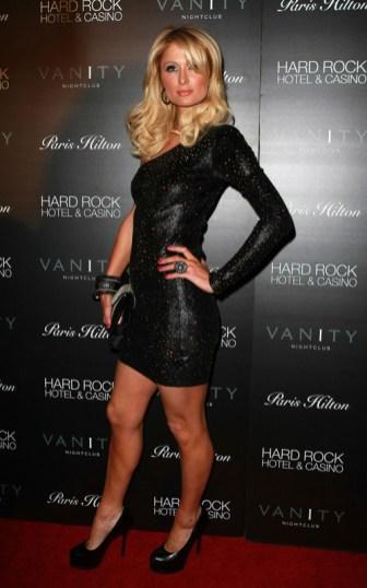Paris Hilton wearing The Blonds