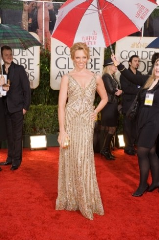 Toni Collette in Elie Saab
