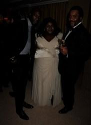 Ozwald Boateng; Gabourey Sidibe; Lee Daniels
