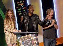 Lily Collins; Chris Rock; David Spade