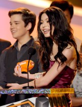 Nathan Kress and Miranda Cosgrove