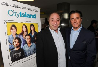 Bill Clark and Andy Garcia