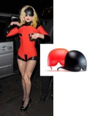 Lady Gaga wearing Mykita sunglasses