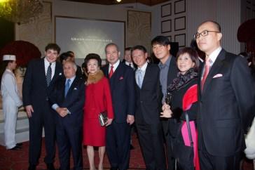 Mr Philip Kadoorie, The Hon Sir Michael Kadoorie, Lady Li, Dr The Hon Sir David Li, Mr Clement Kwok, Mr Leon Lai, Ms Cheung Man Yee, Mr David Wang