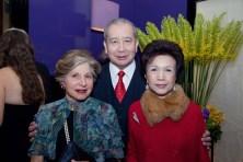 The Hon Rita McAulay, Dr The Hon Sir David Li, Lady Li