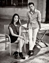 Carol Lim and Humberto Leon