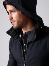 Loomstate Nylon Cotton Windbreaker (detail): Original retail: $235, Gilt: $48