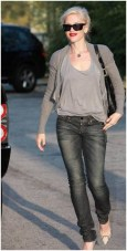 Gwen Stefani wearing All Saints