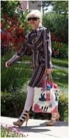 Gwen Stefani carrying Harajuku Lovers handbag