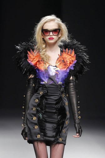From the Maria Escote Fall 2010 collection