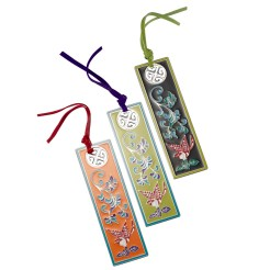 Magpie Enameled Bookmark ($50)
