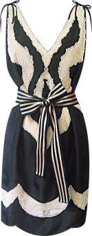 Meet me in Tangier Sunset Dress in Black, $343