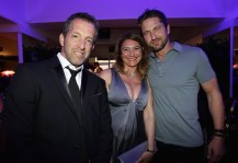 Kenneth Cole, Marina Garzoni and Gerard Butler