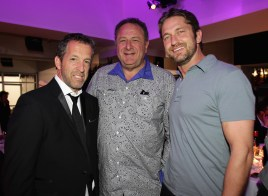 Kenneth Cole, Jean Pigozzi and Gerard Butler