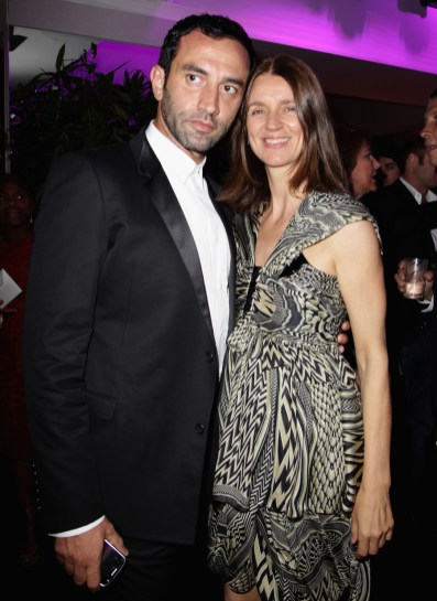 Riccardo Tisci and Karla Otto