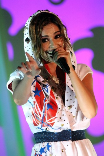Cheryl Cole performance