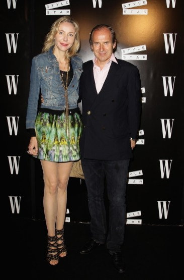 Simon de Pury and Michaela