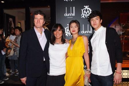(From left) Mr. Christian Rhomberg, Mrs. Maria Rhomberg, Ms. Mara Rhomberg, and Christian Rhomberg