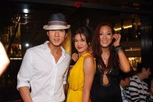 (From left) Mr. Chun Wu, Ms. Mara Rhomberg and Ms.Eydie Tai