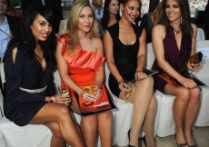Jade Ewen; Amelle Berrabah; Heidi Range; Liz Hurley