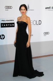 Camilla Belle in Gucci and Cartier