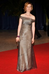 Cynthia Nixon wearing Calvin Klein Collection