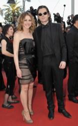 Emilie Dequenne wearing a Paule Ka