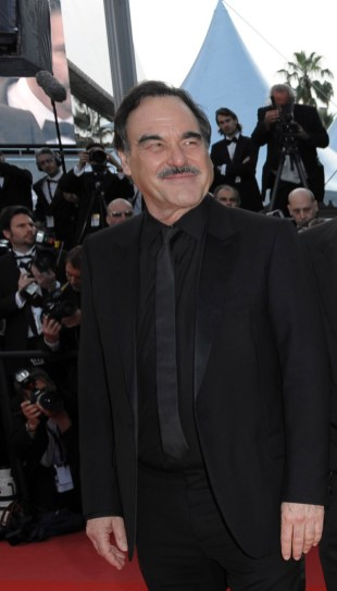 Oliver Stone in Dior Homme