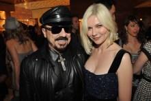 Peter Marino and Kirsten Dunst