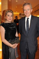 Barnard Arnault and Catherine Deneuve