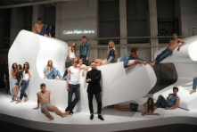 Kevin Carrigan, Calvin Klein Model Installation