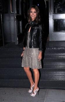 Jessica Alba at Ralph Lauren