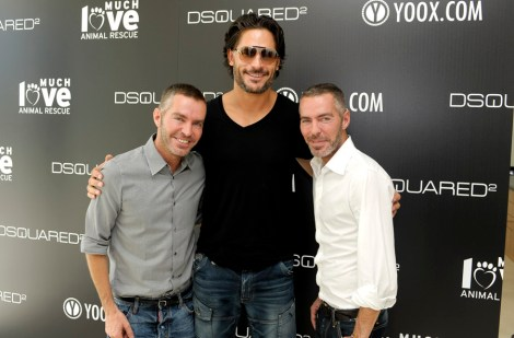 Dean Caten, Joe Manganiello, Dan Caten