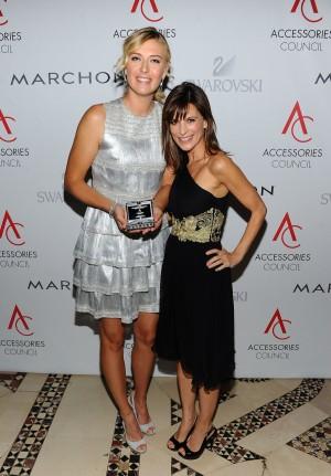 Maria Sharapova and Perrey Reeves