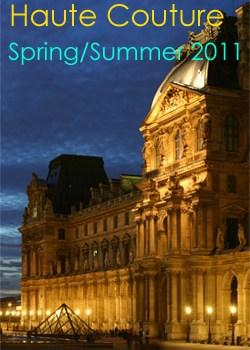 Paris Haute Couture Spring 2011