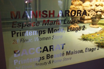 Manish Arora at Printemps