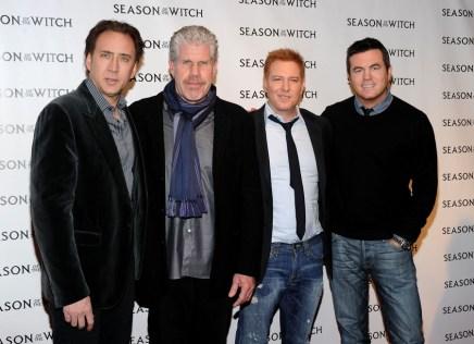 Nicolas Cage; Ron Perlman; Ryan Kavanaugh; Tucker Tooley