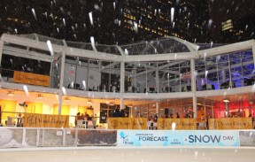 Snowy-Rink Veuve Clicquot
