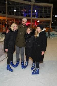 Skaters Veuve Clicquot in the Snow
