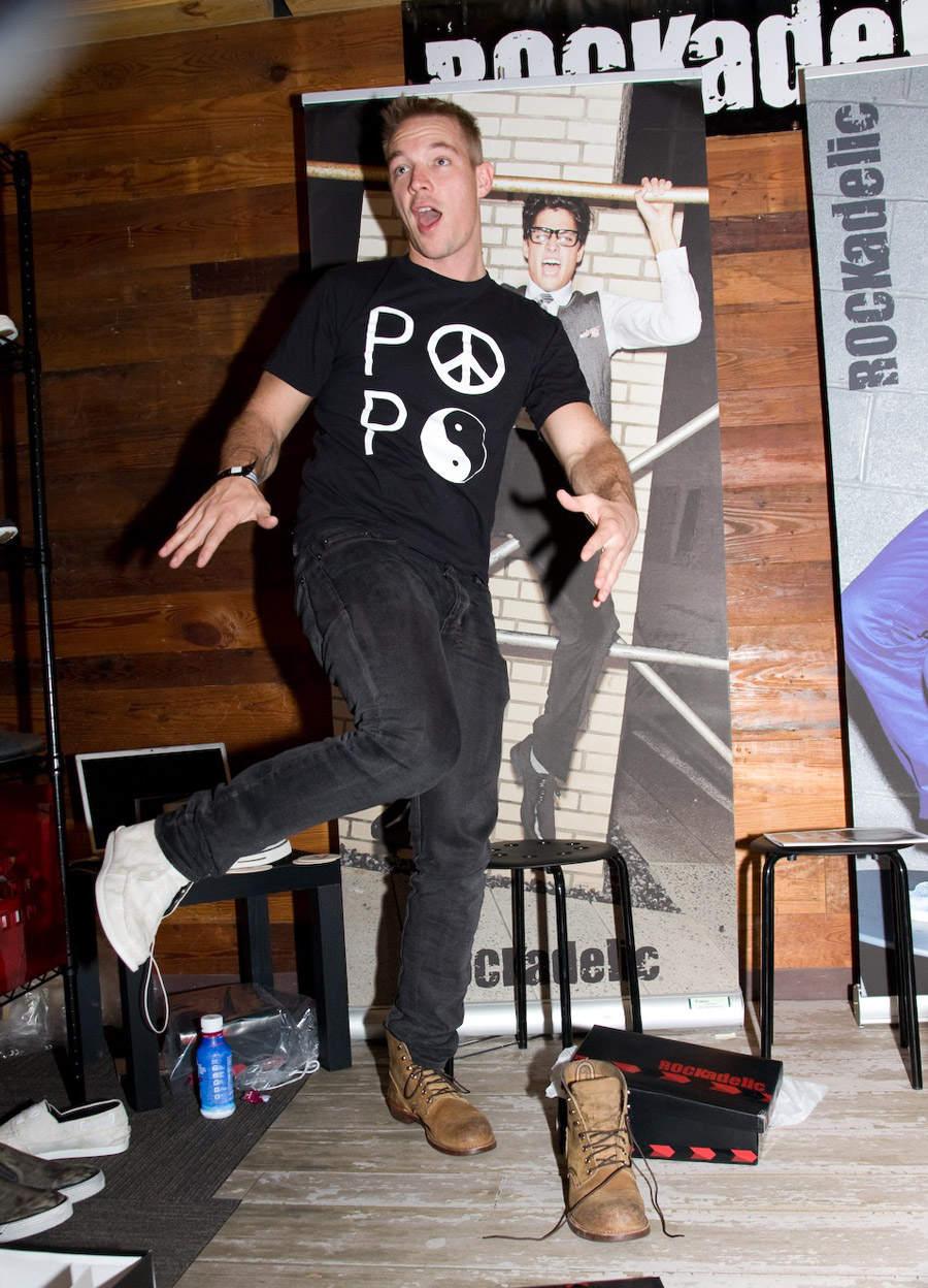 Rockadelic Shoes Rocks at SXSW Music Festival 2db0f3e88e25