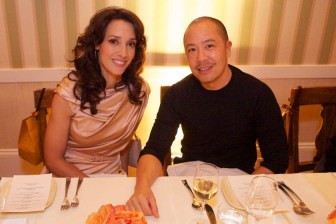 Jennifer Beals and Derek Lam