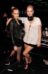 Alice Dellal and Pixie Geldof