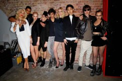 Cast of ck one MTV Push Campaign