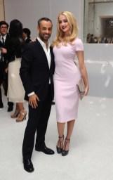 Francisco Costa and Amber Heard