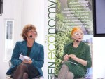 Vice-President of the European Parliament Isabelle Durant & Dame Vivienne Westwood